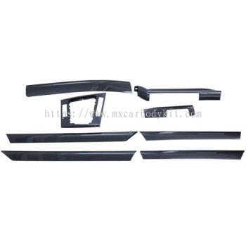 BMW 3 SERIES E46 INTERIOR PANEL W/CARBON LOOK (8PCS/SET)