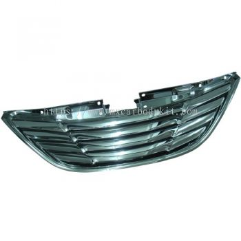 HYNDAI SONATA 2011 FRONT GRILLE ALL CHROME