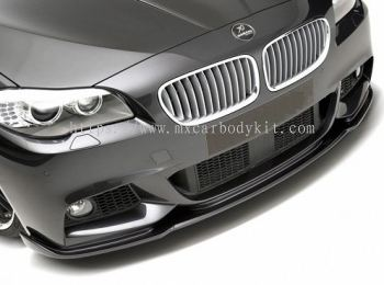 BMW 5 SERIES F10 M-TEK HM LOOK FRONT LIP WITH CARBON