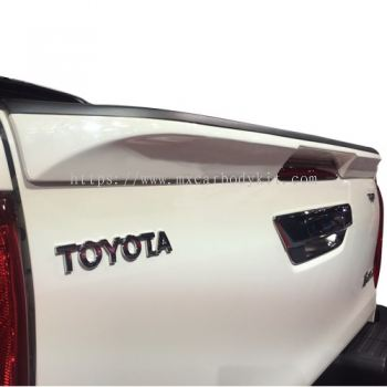 TOYOTA HILUX REVO 2016 TR LOOK TAIL GATE SPOILER