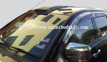 MITSUBISHI TRITON 2010 ROOF SCOOP