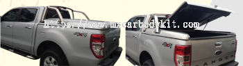 FORD RANGER 2012 RS-RACING FLAT COVER FOR ORIGINAL STAINLESS STEEL BAR