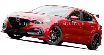 MAZDA 3 SEDAN 2015 KNIGHT SPORT BODYKIT