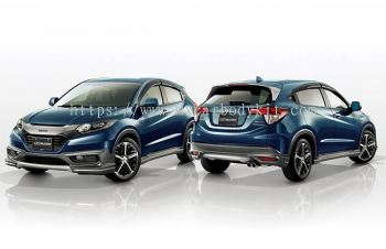HONDA HRV 2015 MUGEN BODY KIT + SPOILER