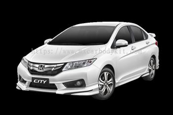 HONDA CITY 2014 MODULO BODY KIT + SPOILER