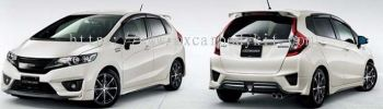 HONDA JAZZ 2014 MUGEN BODY KIT + SPOILER