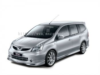 NISSAN LIVINA 2011 IMPUL 2 BODY KIT + SPOILER