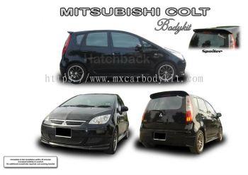 MITSUBISHI COLT HATCHBACK AM STYLE BODYKIT + SPOILER