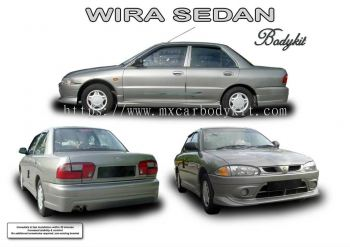 PROTON WIRA SEDAN AM STYLE BODYKIT