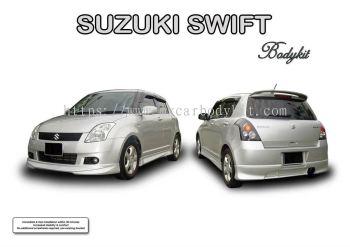 SUZUKI SWIFT 2005 AM STYLE BODYKIT