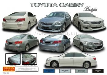 TOYOTA CAMRY 2006 AM STYLE BODYKIT + SPOILER