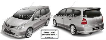 GRAND LIVINA 2007-2010 IMPUL 1 BODYKIT