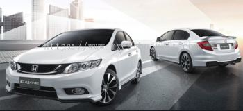 HONDA CIVIC 2012 MODULO (THAILAND DESIGN) BODY KIT + SPOILER