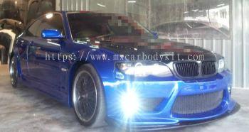 BMW E46 2000-2005 NEW MODEL J-EMOTION DESIGN WIDEBODY BODYKIT + SPOILER