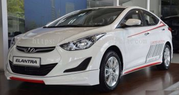 HYUNDAI ELANTRA 2015 OEM DESIGN BODY KIT + SPOILER