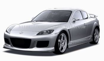 MAZDA RX8 MAZDA SPEED FULL SET BODYKIT + SPOILER