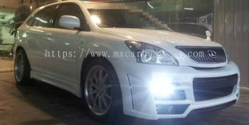 TOYOTA HARRIER 2003 ZEUS/STYLE DESIGN FULL SET BODYKIT