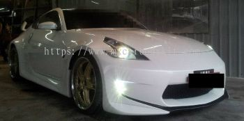 NISSAN FAIRLADY Z33 CONVERT TO Z34 AMUSE STYLE FULL SET WIDEBODY J-EMOTION DESIGN + SPOILER