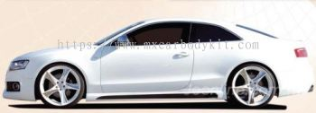 AUDI A5/S5 B8 2008-13 2DOOR RIEGER/STYLE SIDE SKIRT