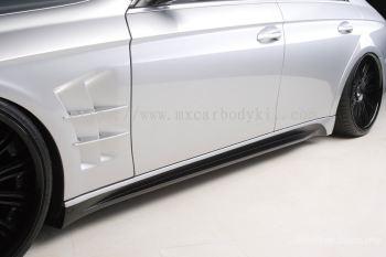 MERCEDES BENZ W219 CLS BLACKBISON/STYLE DESIGN SIDE SKIRT