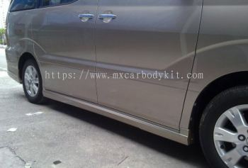 TOYOTA ALPHARD 2002-07 MODELISTA DESIGN SIDE SKIRT