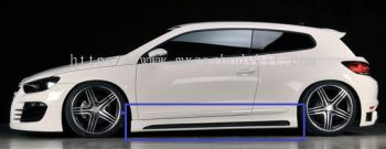 VOLKSWAGEN SCIROCCO 2010 RIEGER DESIGN SIDE SKIRT