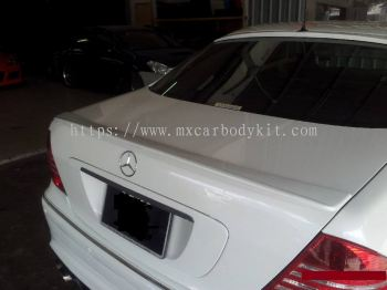 MERCEDES BENZ W220 J-EMOTION DESIGN REAR SPOILER