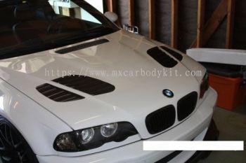 BMW E46 M3 VORSTEINERSTYLE DESIGN FRONT BONNET