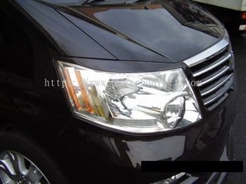 TOYOTA ALPHARD 2002-05 MODELISTA DESIGN HEAD LAMP EYE LIP