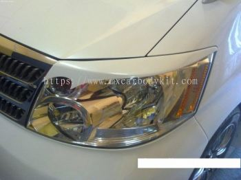 TOYOTA ALPHARD 2002-05 SPORT DESIGN HEAD LAMP EYE LIP