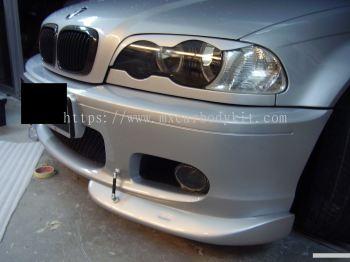 BMW E46 1999-02 HEAD LAMP EYE LIP