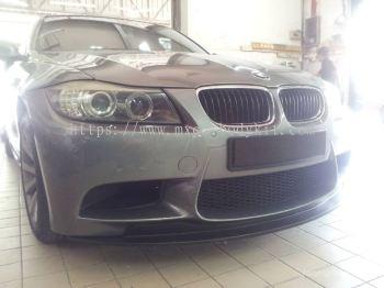 BMW E90 2009 LCI M3 FRONT BUMPER LIPS