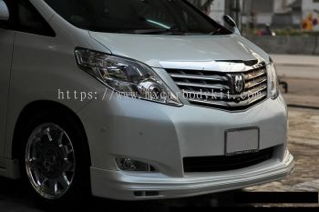 TOYOTA ALPHARD 2008-11 ADMIRTION DESIGN FRONT SKIRT
