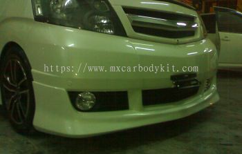 TOYOTA ALPHARD 2002-04 J-EMOTION DESIGN MS FRONT SKIRT