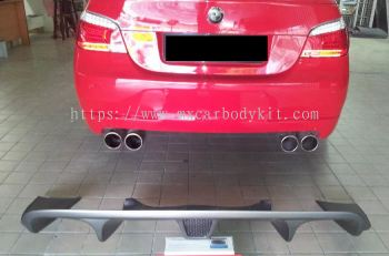 BMW E60 J-EMOTION DESIGN REAR DIFFUSER