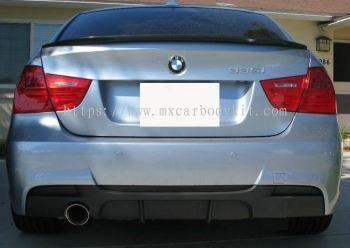 BMW E90 M-SPORT REAR DIFFUSER