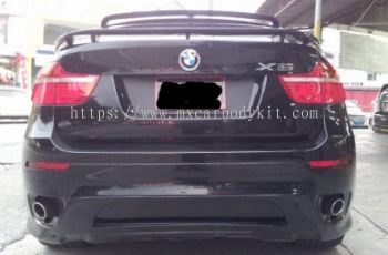 BMW X6 E71 HAMANNSTYLE REAR DIFFUSER