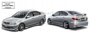 NISSAN SYLPHY 2008 IMPUL BODY KIT + SPOILER