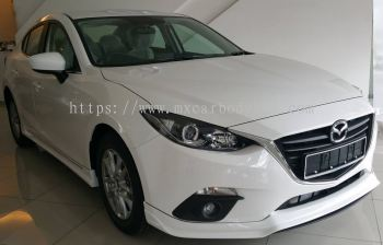 MAZDA 3 SEDAN 2015 RS DESIGN BODY KIT + SPOILER