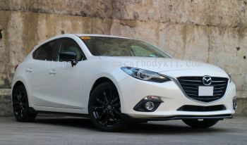 MAZDA 3 HATCHBACK / SEDAN 2015 TA DESIGN BODY KIT + SPOILER
