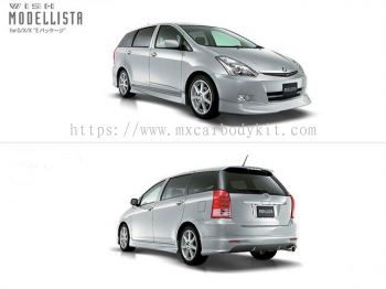 TOYOTA WISH 2005 MODELLISTA BODY KIT