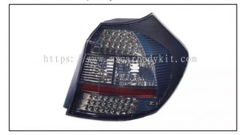 BMW 1 SERIES E87 TAIL LAMP CRYSTAL LED SMOKE