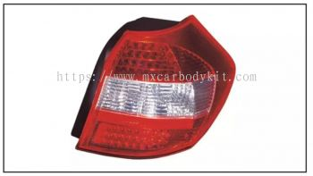 BMW 1 SERIES E87 TAIL LAMP CRYSTAL LED RED / CLEAR
