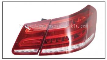 MERCEDES E-CLASS W212 2010 REAR LAMP CRYSTAL LED RED/CLEAR