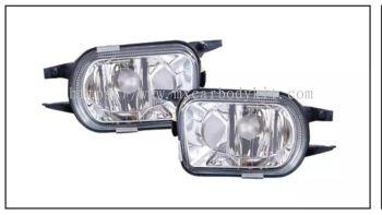 MERCEDES BENZ C-CLASS W203 2000' FOG LAMP CRYSTAL GLASS LENS