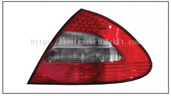 MERCEDES BENZ E-CLASS W211 REAR LAMP CRYSTAL LED RED/SMOKE