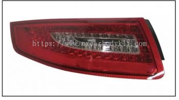 PORSCHE CARRERA 991/997 2004-2012 REAR LAMP CRYSTAL LED RED / CLEAR