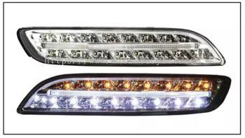PORSCHE CARRERA 911/997 2004-2012 FRONT BUMPER DRL + SIGNAL