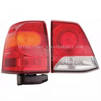 TOYOTA LANDCRUISER FJ200 2013 REAR LAMP CRYSTAL LED RED/CLEAR