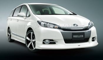 TOYOTA WISH 2012 FACELIFT MODELISTA FRONT SKIRT